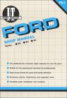 Ford Shop Manual Series 2N, 8N, 9N/Fo-4